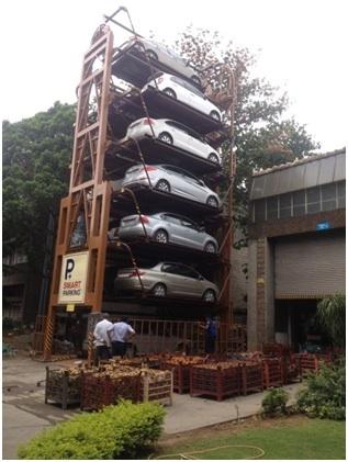 Parking Management System  in  Chittranjan Park