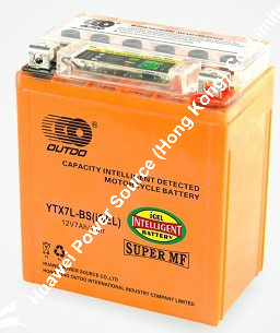 Outdo I-Gel Motorcycle Battery