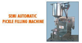 Semi Automatic Pickle Filling Machine