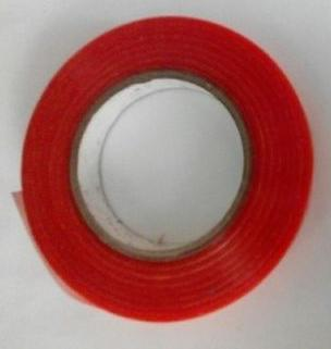 Double Sided Poly Red Liner PET Tape in  New Area