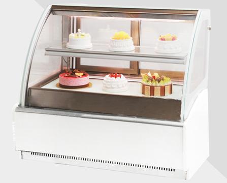 Countertop Cake Pastry Showcase Deli Display Freezer In