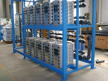 EDI Electrodeionization Plant