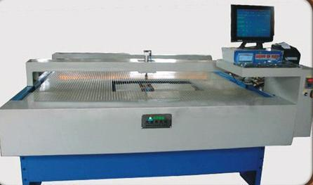 Electronic Surface Leather Measuring Machine With System Of Multiple Stamping