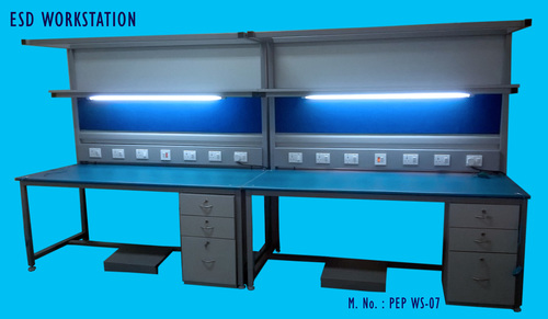 Esd Work Station With Illumination