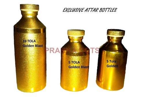 Screw Neck Attar Aluminum Bottles