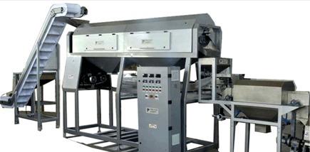 Premium Dual Action Cashew Peeling Machine