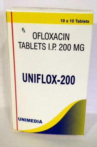 Uniflox-200 Tablet in  Vatva Phase-Iii