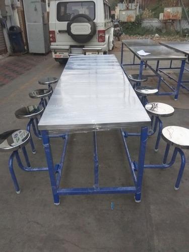 Canteen dining table in vadodara gujarat maa eng fab