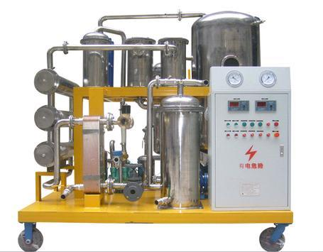 puryfying used cooking oil