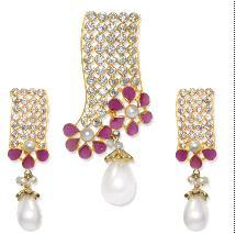 Polki Set (Ear Rings)