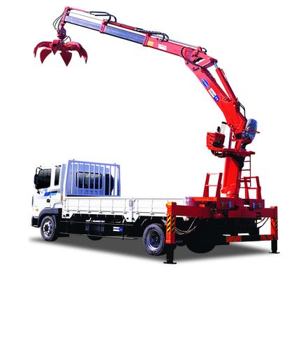Knuckle Boom Cranes Manufacturers : Kn knuckle boom crane in korea cheongju exporter and