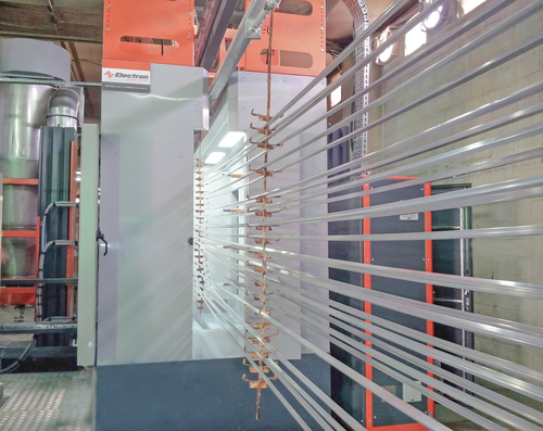 Fast Color Change Plastic Powder Booth in   Okmeydani / Sisli