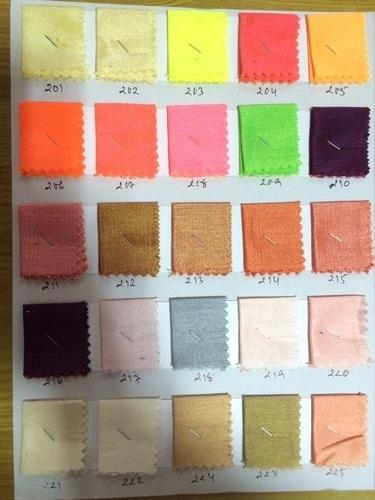 Color Taffeta Fabrics