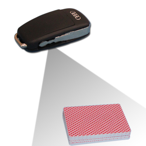 Audi Car Key Camera Card Reader To Scan Bar Code Sides Cheating Playing Cards In