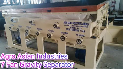 Automatic Rice Gravity Seperator Machine in  Saha