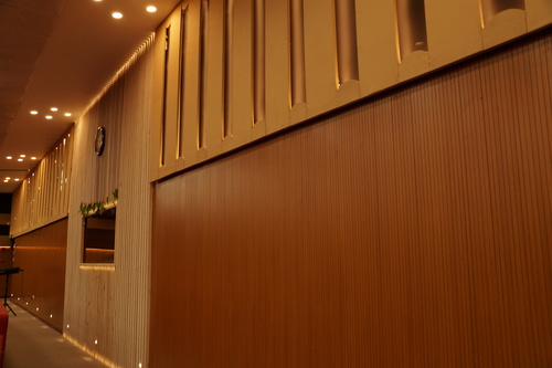 Auditorium Acoustic Wall Panelling