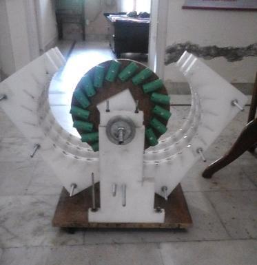 Free Energy Self Running Magnet Motor In Pakhowal Road