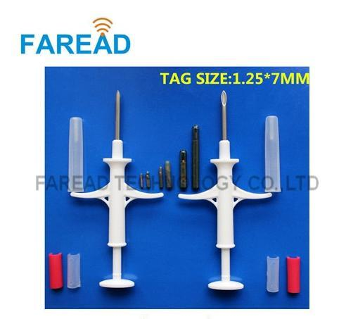 Rfid Injectable Microchips 1.25*7mm Iso11784/785 Fdx-B Syringe