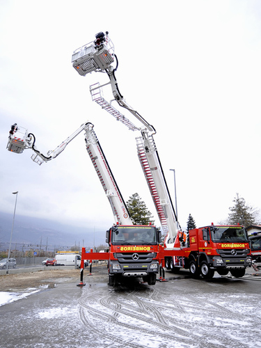 Fire Fighting Aerial Platform Vehicles