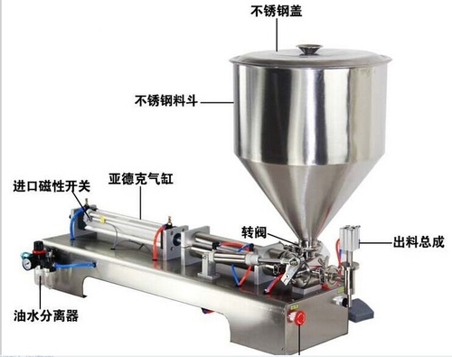 Semi Tube Filling Machine For Oil Liquid Paste Cream