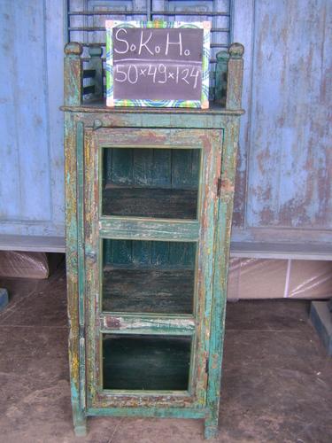 Wooden Kitchen Glass Cabinet