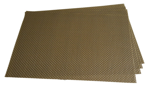Basket Weave PVC Mats for Hotels and Restaurants