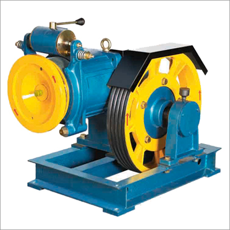 Compact Traction Machine For Elevators