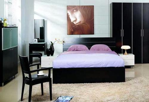 Bedroom Double Bed (Ic-Bf-002)