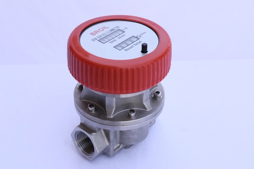 Mechanical Stainless Steel Oval Gear Fuel Flow Meter