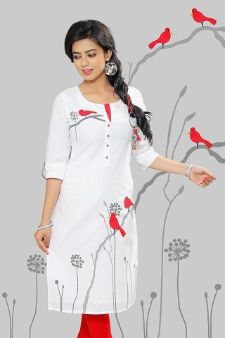 Formal Ladies Kurti in  Pardesipura