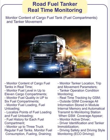 Road Fuel Tanker Real Time Monitoring