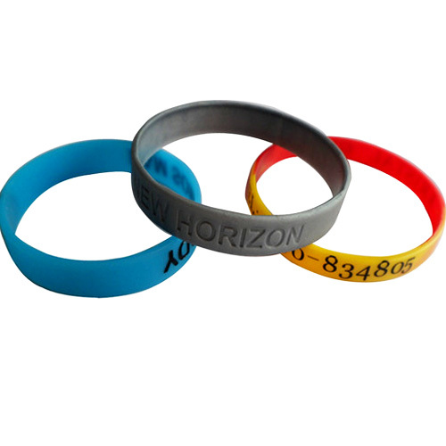 Silicone Bracelets in   Xiasha Economic And Technological Development Zone