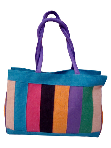Jute Multicolor Bag in   Bagalkot Road Vijayapur