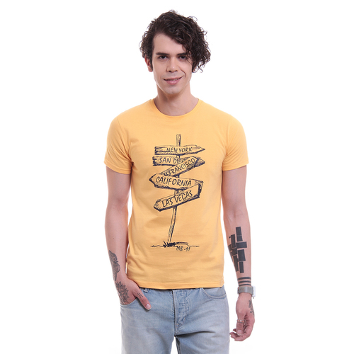Mens Printed T Shirts in  Bindra Colony
