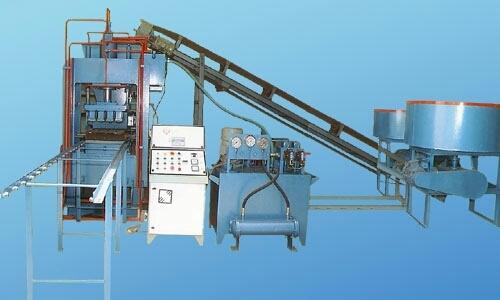 Semi Automatic Fly Ash Brick Machinery