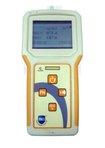 Portable PM 2.5 PM 10 Monitor