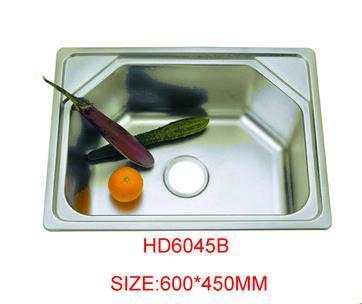 Modern Hexagon Kitchen Deep Stainless Steel Sink HD6045B