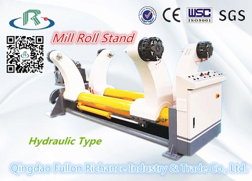 Corrugated Cardboard Hydraulic Shaftless Mill Roll Stand