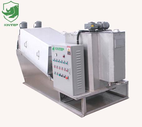 Volute Sludge Dewatering Machine