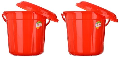 Plastic Bucket 13 Ltr with Lid