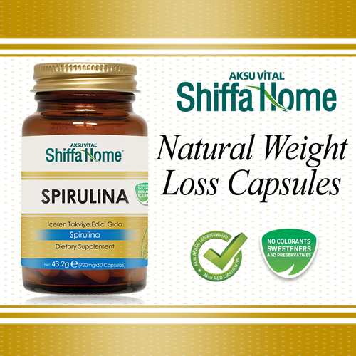 Spirulina capsules for weight loss