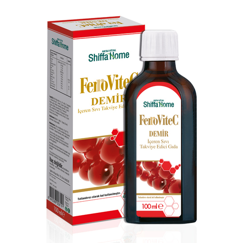 Ferrovitec Ayurvedic Herbal Iron Syrup Vitamin C Oral Liquid
