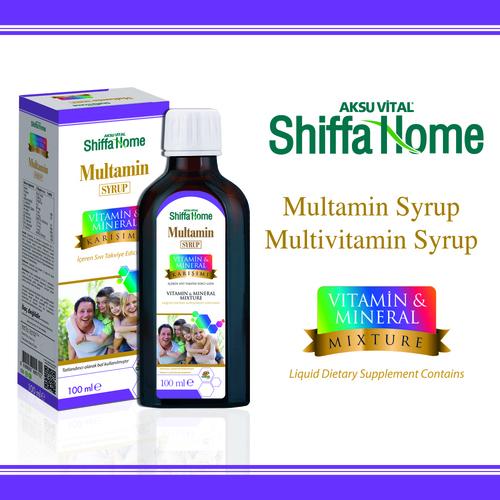 Multamin Multivitamin Syrup For Kids Natural Ayurvedic Oral Liquid