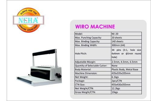 Wiro Binding Machines Ne-20 in  Ghatkopar (E)