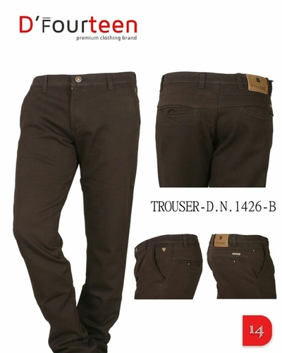 Dfourteen Cotton Trousers in  Ring Road