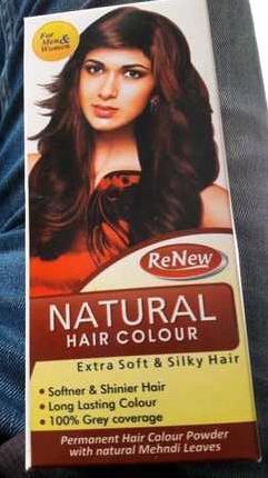 Renew Natural Hair Color