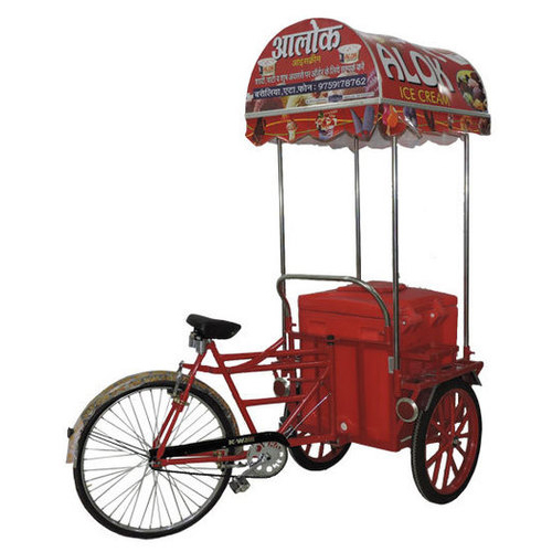 Ice Cream Tricycle Cart in  Kanpur Road
