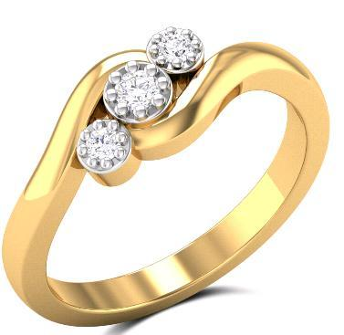 Blush Diamond Rings in Chennai Tamil Nadu Zaamor Diamonds