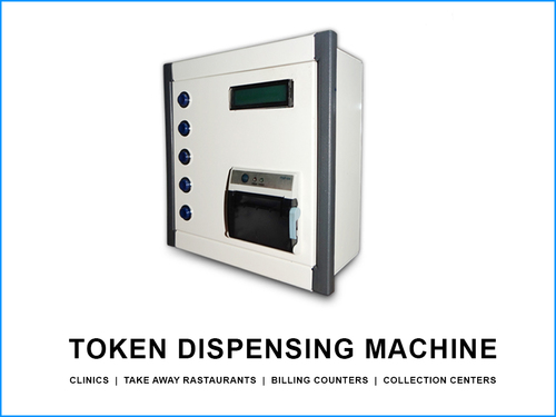 Modern Button Based Token Dispensers in  Nanpura
