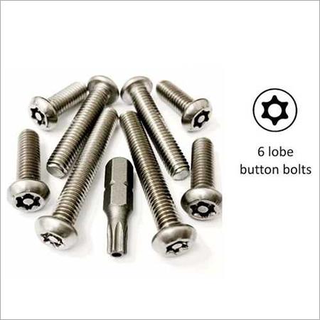 6 Lobe Button Bolts